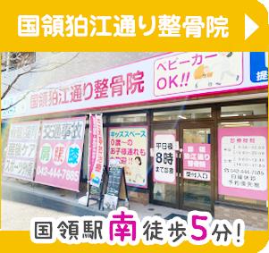 国領狛江通り整骨院へのアクセス
